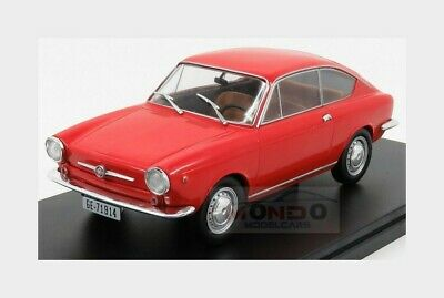 Fiat 850 Coupe 1967 Red EDICOLA 1:24 SALRMIT019