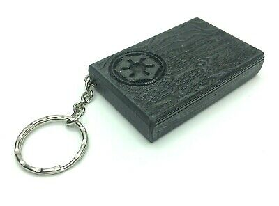 Beskar Steel Ingot Replica Keyring / Bagtag -Weighted Hand Finished -Mandalorian