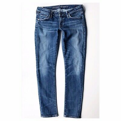 Citizens Of Humanity Womens Jeans Racer Skinny Size 28 Nice Condition Y40