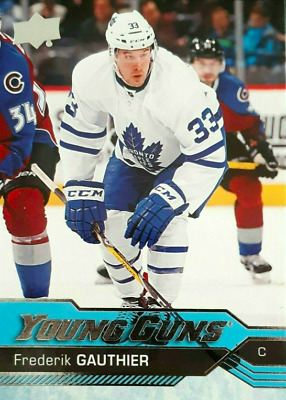 2016-17 Frederik Gauthier Young Guns Rookie Ud Series 2 460 Yg Rc