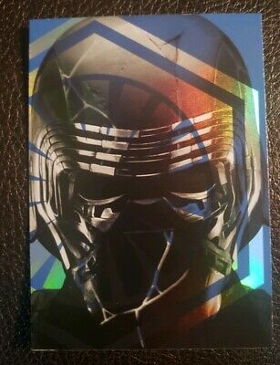 2019 Topps Star Wars: Journey To The Rise Of Skywalker Foil Cards #FC-2 Kylo Ren