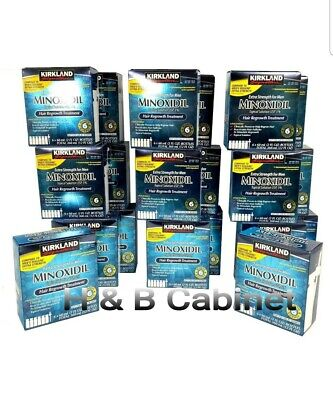 120 Month Kirkland Minoxidil 5% Extra Strength Mens Hair ReGrowth 20 boxes LOT