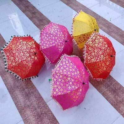 Wholesale Lot Indian Umbrella Decorative Wedding Umbrellas Handmade Sun Parasols