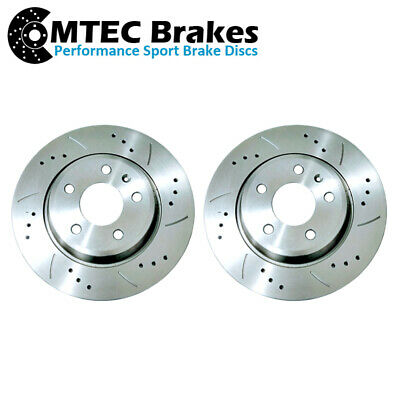 MG Montego 2.0 EFi Front Drilled Grooved Brake Discs