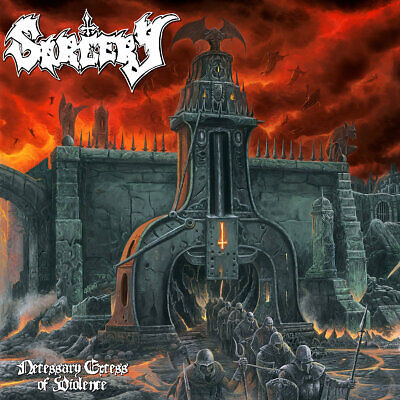 SORCERY - Necessary Excess of Violence - CD - DEATH METAL