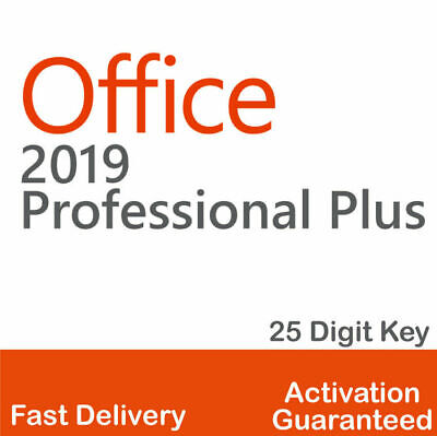 Office 2019 Pro Plus Instant Download License key Office 2019 Professional Plus✔