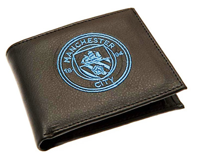 Manchester City F.C. Embroidered Wallet. Brand New. Official Club Merchandise