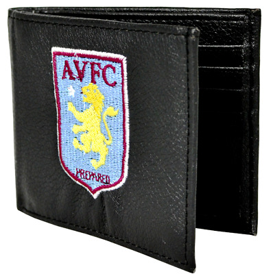 Aston Villa F.C. Embroidered Wallet. Brand New. Official Club Merchandise