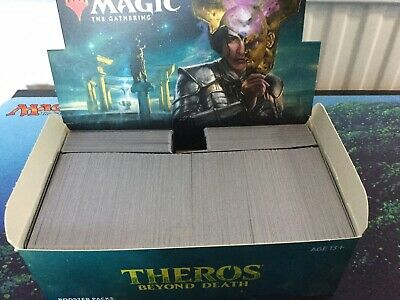 MTG, 600X Theros Beyond Death Commons. Mixed Bundle, Job Lot In Booster Box.