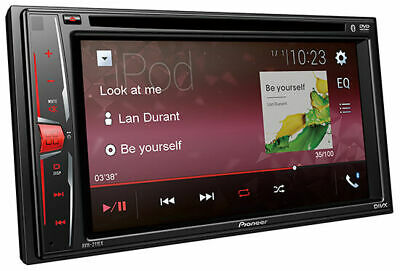 """Pioneer AVH-211EX Bluetooth DVD USB AUX Car Stereo with 6.2"""" Touchscreen"""