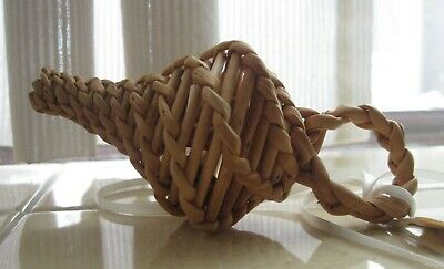 VINTAGE english WILLOW baby RATTLE- unused reproduction