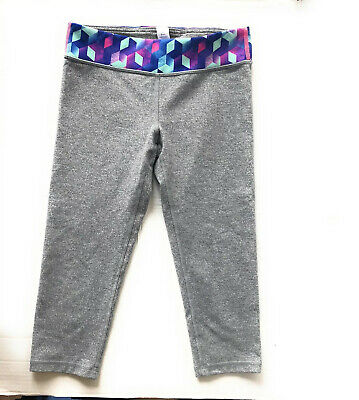 Ivivva Lululemon Girls Cropped Leggings Capri Size 12