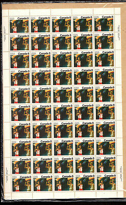 No 681, Olympic Ceremonies 1976: Olympic Torch, Unfolded Sheet Nh