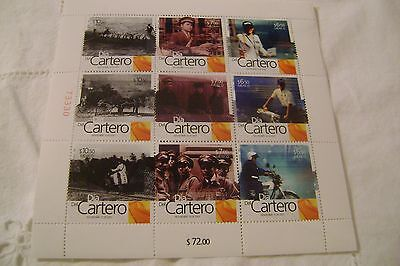 Mexico=Scott # 2560-Letter Carrier's Day-Sheet-Mnh-