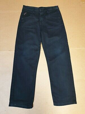 Boys Ben Sherman Black Straight Leg Denim Jeans Age 12-13 Years