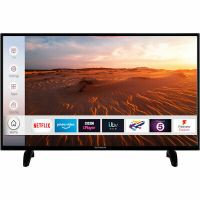 Techwood 39AO8FHD 39 Inch TV Smart 1080p Full HD LED Freeview HD 3 HDMI WiFi