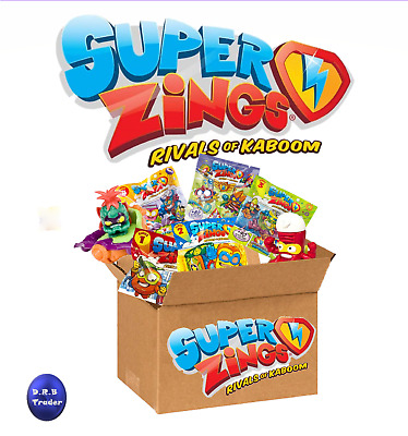SUPERZINGS Toys in Small or Large Box from across all 5 Series in resealed bags