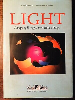 LIGHT Lamps 1968 1973 New Italian Design Fulvio Ferrari luce