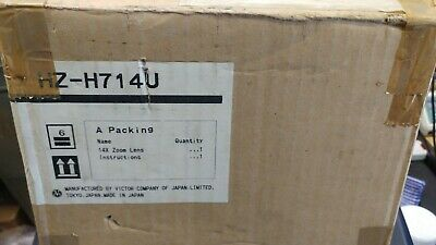 Brand New and Boxed JVC HZ-H714U Zoom Lens