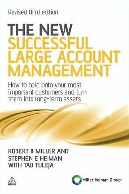 The New Successful Large Account Management: How to ... by Tuleja, Tad Paperback