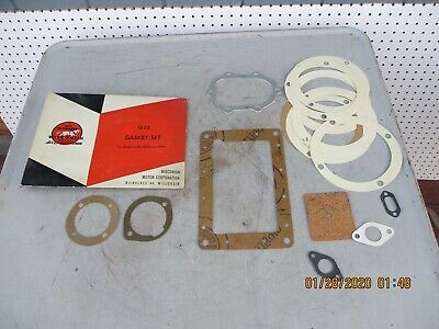 Wisconsin Engine Q-22 Gasket Set Fits Engines AEN,  AENS,  AENL NOS