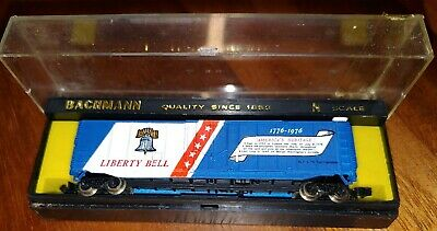 Bachmann N Scale Bicentennial Plug Door Box Car, Liberty Bell, #5202, (TV2)
