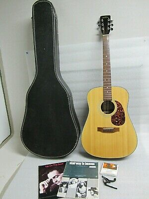Sigma Guitars by C. F. Martin & Co. DM 2 Acoustic Guitar with Case