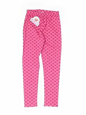 NWT Jelly The Pug Girls Pink Leggings 8