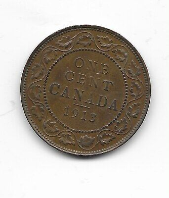 1913  Canada Large Cent Penny