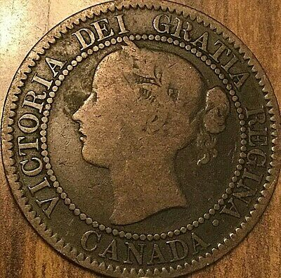 1859 Canada Large Cent Large 1 Cent Penny