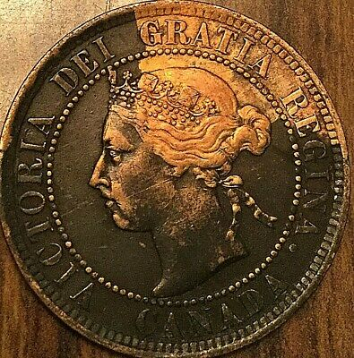 1897 Canada Large Cent Large 1 Cent Penny