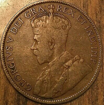 1913 Canada Large Cent Large 1 Cent Penny