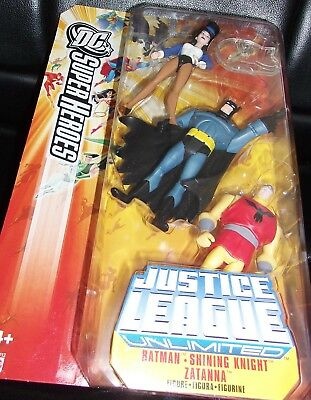 2006 Justice League * Dc. Super Heroes Unlimited. Batman, Shining Night, Zatanna