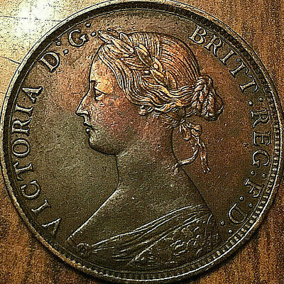 1861 NOVA SCOTIA LARGE CENT LARGE 1 CENT PENNY COIN - Fantastic example!