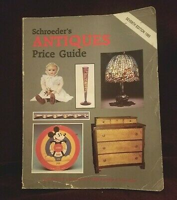 ©1989 Schroeder's Antiques Price Guide Seventh Edition Paperback Book
