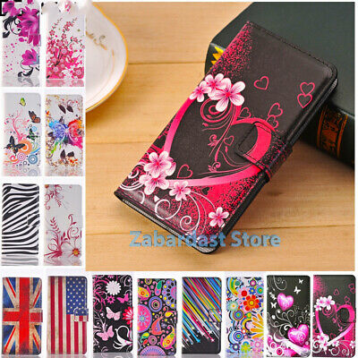 Leather Design Wallet Shockproof Book Stand Card Case Cover for Huawei Y6 (2019)