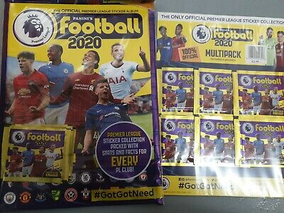 Panini Football 2020 Official Premier League Starter Pack + Multi Pack