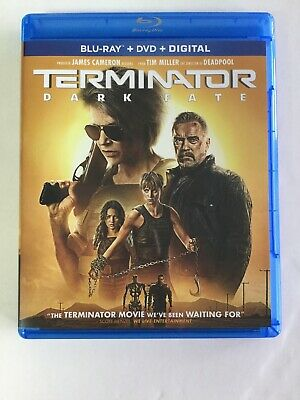 Terminator Dark Fate, Blu-ray, & Digital, NO DVD INCLUDED, Never Watched Before!