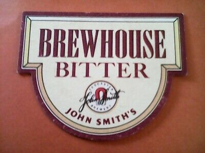 CERAMIC SIGN WALL PLAQUE John Smith/'s Yorkshire Bitter  ENAMEL