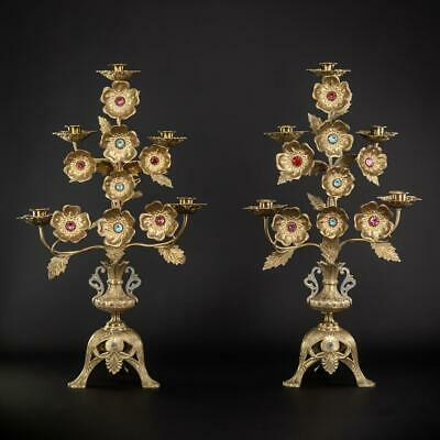 """Candelabras Pair 