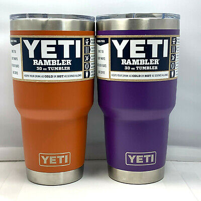 YETI Rambler 30 oz Stainless Steel Vacuum Insulated Tumbler w/MagSlider Lid NEW