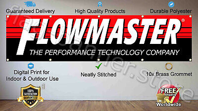 Flowmaster Flag Banner 3x5 ft The Exhaust Technology Company