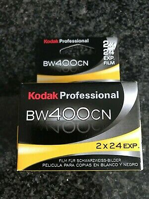 2x Kodak Professional BW 400 CN B&W  35 mm film expired film out of date