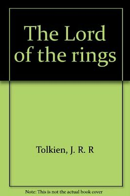 The Lord of the rings by Tolkien, J. R. R Book The Fast Free Shipping