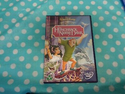 The Hunchback of Notre Dame (Disney) DVD (2002) Gary Trousdale cert U,free p+p
