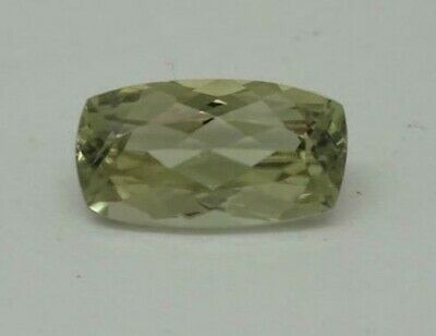 2.06Ct If Coupe Coussin 9.96 X 5.48 mm AAA Couleur Change Turque Diaspore Rare