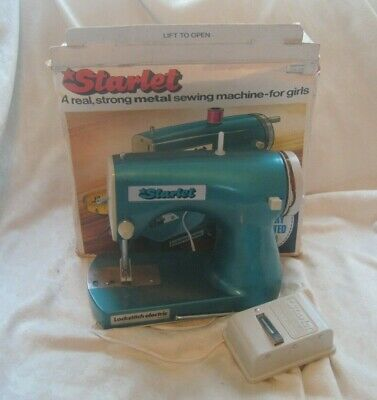 Vintage FULLY BOXED Children's Old SEWING MACHINE Starlet MECCANO Lockstitch