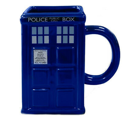 OFFICIAL DR DOCTOR WHO GALAXY TARDIS LATTE COFFEE MUG CUP NEW IN GIFT BOX