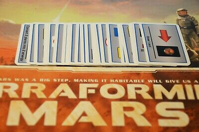 Terraforming Mars Special Projects fan made expansion board game