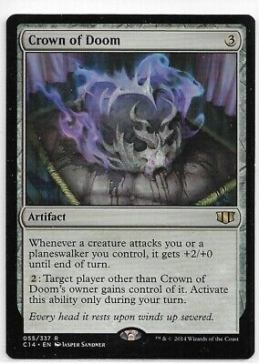 English Commander 2014 x1 Crown of Doom Magic mtg Light Play